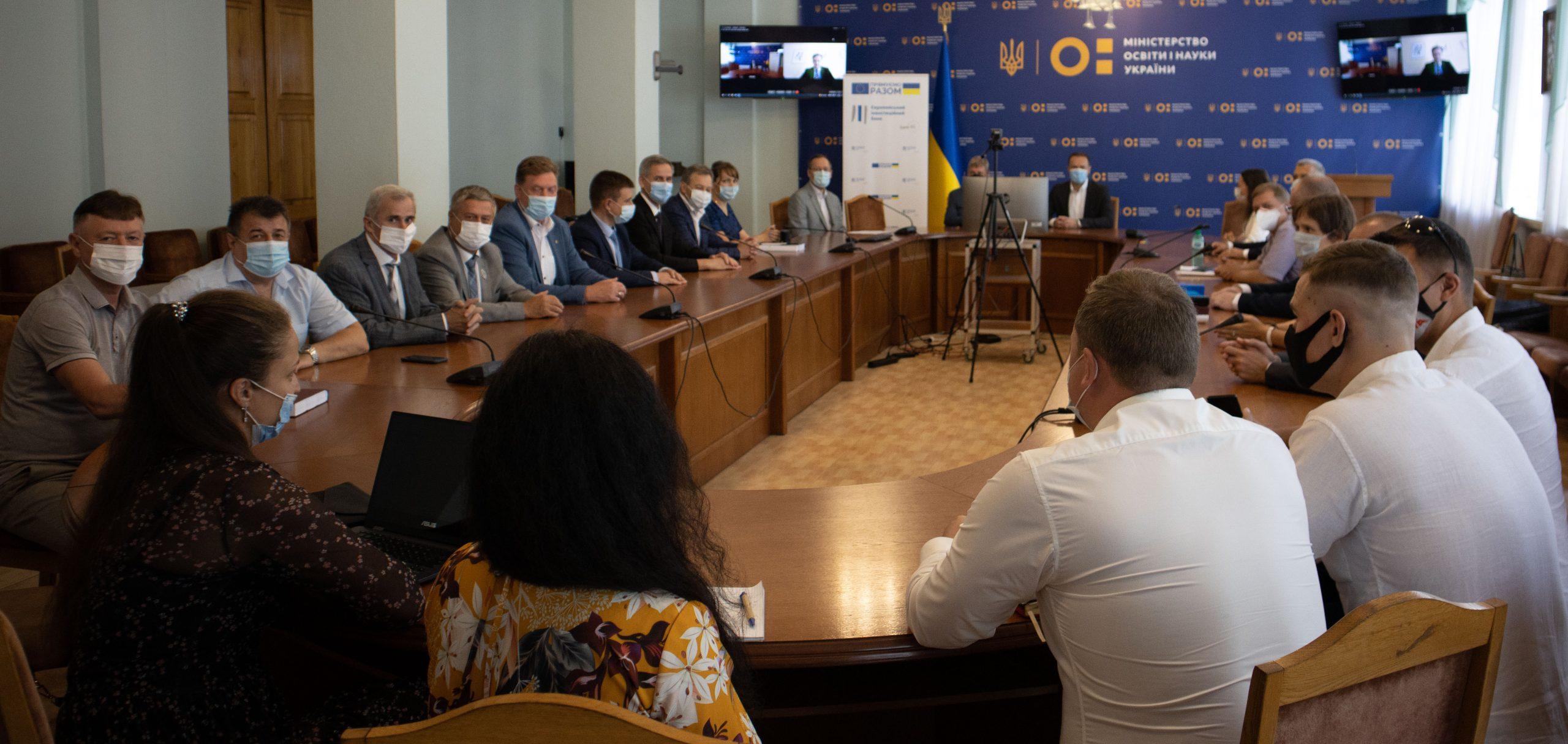 Вінницький національний технічний університет серед учасників проєкту «Вища освіта в Україні»
